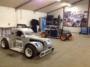Lej en legend car